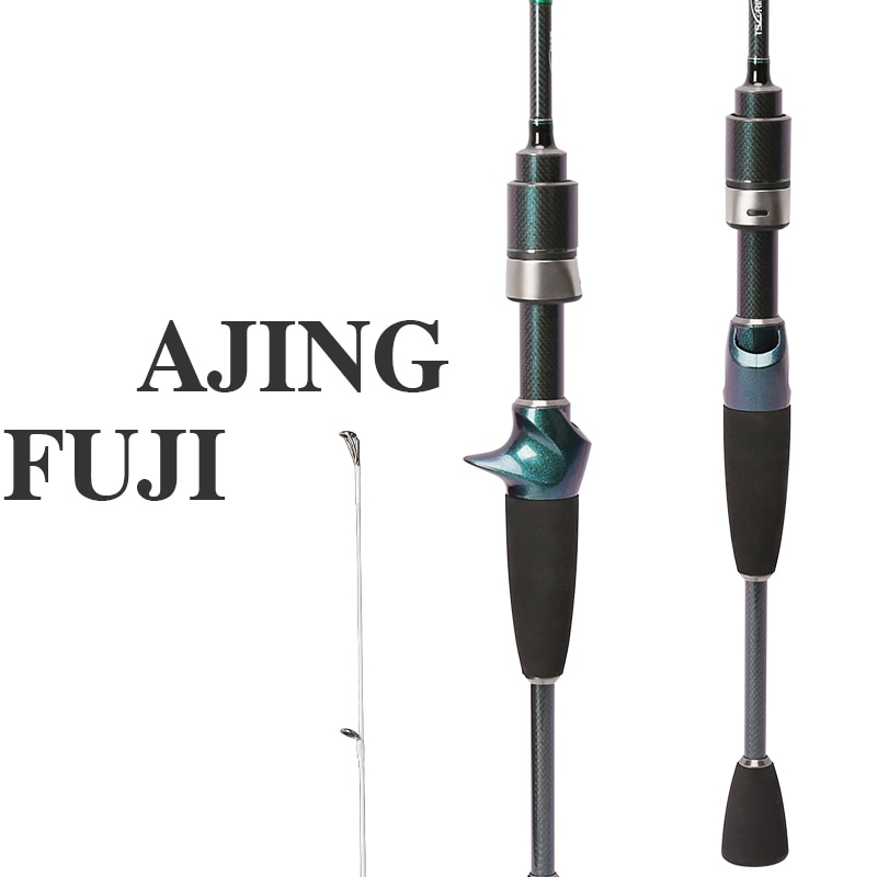 TSURINOYA DEXTERITY C722UL 2.16m/7'2'' Carbon Casting Rod Fast Action Ultralight Lure Fishing Rod Lure Weight 1-5g Canne A Peche enlarge