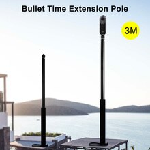 3M en alliage daluminium monopode Selfie bâton pour Insta360 One X/DJI OSMO Action/poche/Gopro Hero 7 6 5 Sjcam caméra accessoires