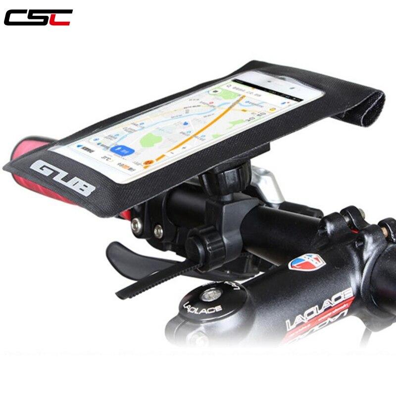 GUB-bolso para bicicleta de montaña y carretera, resistente al agua, funda para teléfono móvil con pantalla táctil