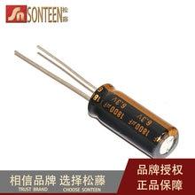 10pcs/lot Electrolytic capacitor 6.3V/1800UF volume 8*20mm