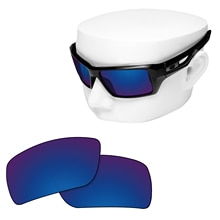 OOWLIT Polarized Replacement Lenses of Deep Water for-Oakley Eyepatch 2 OO9136 Sunglasses