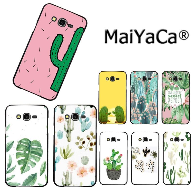 MaiYaCa Panda para Coque Luxe Cactus de lujo TPU funda de teléfono de goma para Samsung 2015J1 J5 J7 2016J1 J3 J5 J7 Note3 4 5 en venta