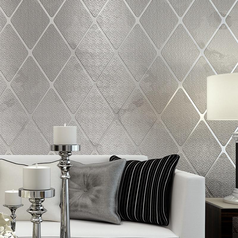 Современные 3D стереоскопические обои на стену для гостиной, телевизора, домашний декор, не тканые геометрические обои в полоску для спальни