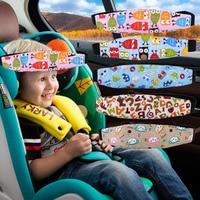 Infant Baby Car Seat Head Support Children Belt Fastening Belt Adjustable Boy Girl Playpens Sleep Positioner Baby Safety Pillows
