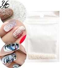 Yiday 1 zak 3g Tiny Mini Kleurrijke AB Crystal Rhinestones Nail Art Decoratie Manicure Wees Pixie Glas 3D Gem DIY Sieraden Dame