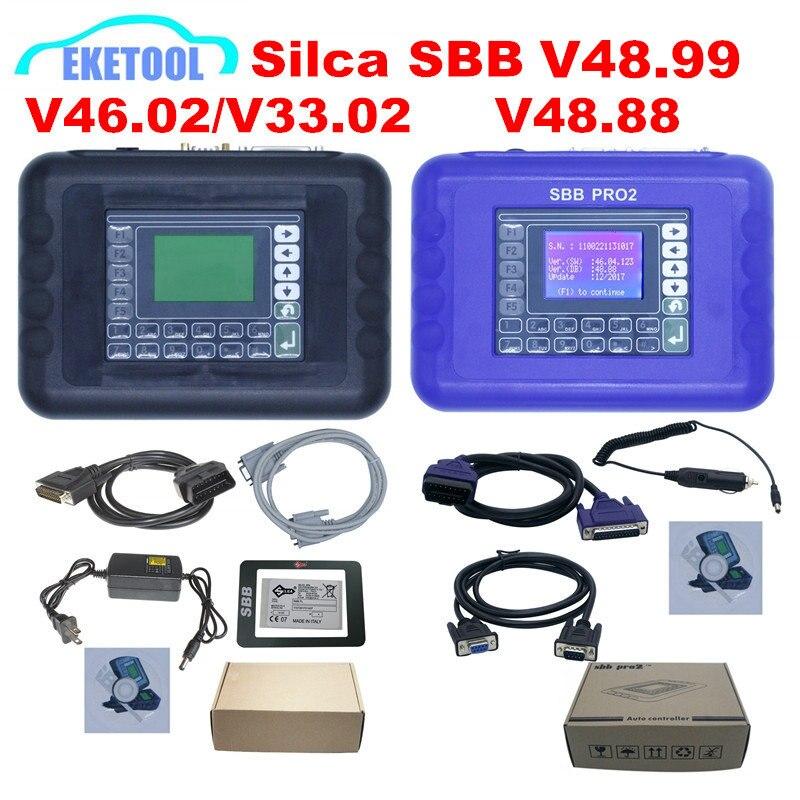 Newest Silca SBB V48.99 V48.88 V46.02 V33.02 Transponder Auto Key Maker Add New More Cars as CK100 V46.02 Upgrade Zed Bull