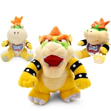 Super Mario Bros Plüsch Spielzeug 18-24cm Bowser JR Koopa Bowser Drachen Plüsch Puppe Brüder Weiches Plüsch