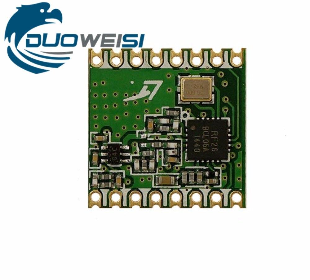 RFM26 | RFM26W | Wireless transceiver module | FSK | 433MHz | 868MHz | 915MHZ | Smart home | SI4463