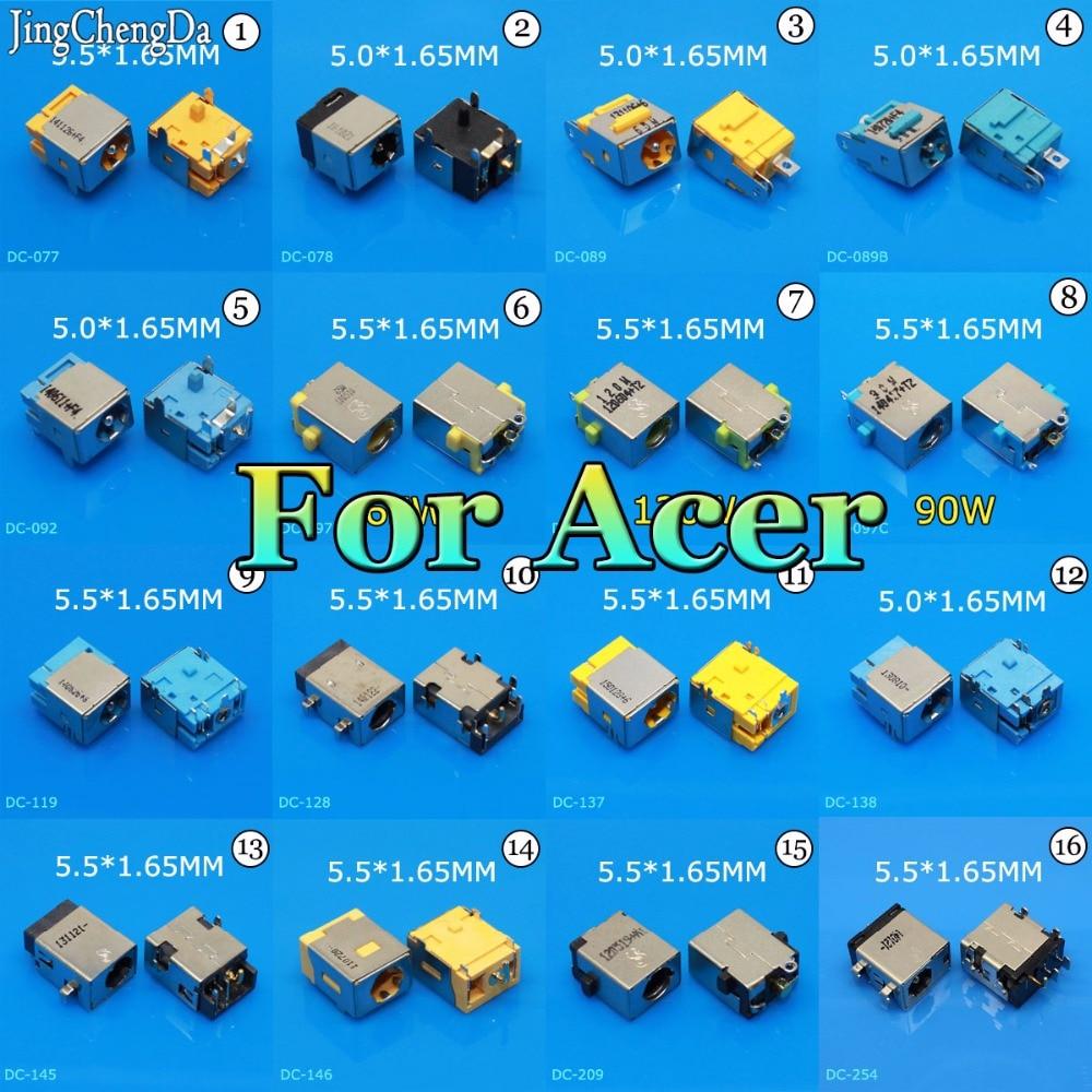 JCD Laptop Notebook netbook charging port power DC Jack connector for acer 5516 5517 5532 5315 751H