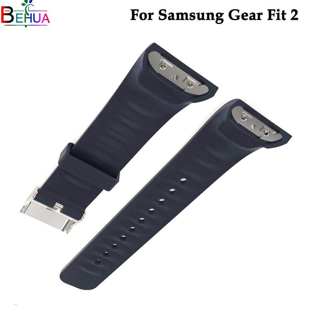 Silikon armband Für Samsung Getriebe Fit 2 uhr Ersatz mode sport uhr band strap Für Samsung Fit2 SM-R360 Zubehör
