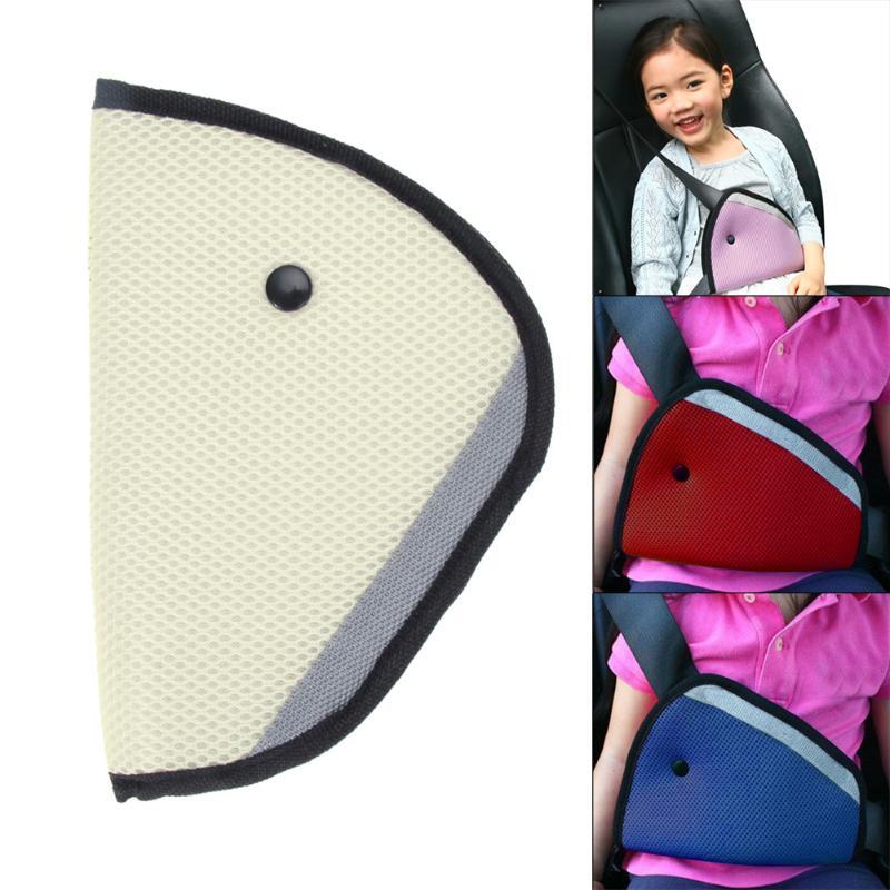 Чехол для ремня безопасности, Автомобильная подушка ремня безопасности для детей, защитные ремни безопасности, наплечная накладка-регулятор, для детей и взрослых