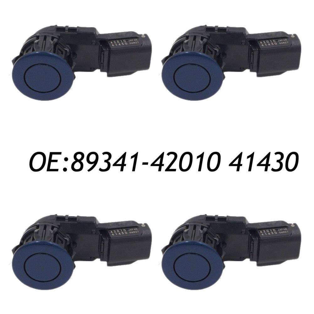 Nuevo (4) 89341-42010, 41430, 100% Original aparcamiento PDC Sensor para Toyota 2013 RAV4 89341-0R010