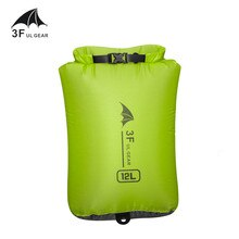 3F UL GEAR 15D 30D Cordura Ultralight Drifting swimming debris clothes sleeping bag storage bag wate