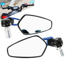Motorcycle Mirror Handlebar Side Handle Bar Ends Mirror FOR YAMAHA YZF R6 R1 TMAX 530 XMAX 125 300 KTM DUKE 690 125 200 390