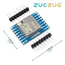 SX1278 LoRa Module 433 M 10 KM Ra-02 ai-thinker sans fil propagation spectre Transmission prise pour maison intelligente bricolage