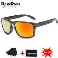 feminino sun glasses outdoors square eyewear gafas de sol oculos de sol femininofashionable wood sunglasses men
