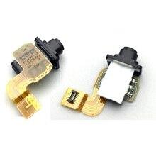 Genuine Audio Jack flex cable For SONY Xperia Z2A SOL25 D6563 ZL2 light Proximity sensor flex cable & Earphone port flex cable