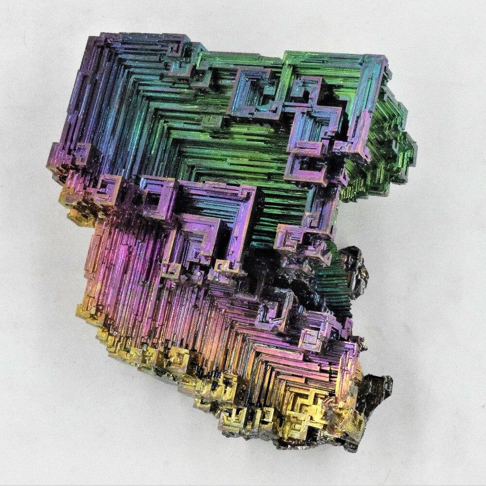 1 piezas 50 30 20g gg 100g bismuto cristales titanato Metal cristal Mineral