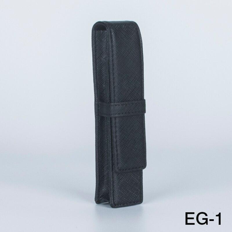 1 шт. черный чехол для ручки JINHAO, высококачественный кожаный материал, сумка для ручек, Подарочная коробка для ручек, канцелярский пенал