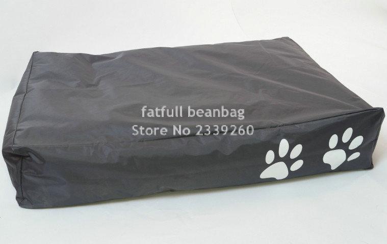 Cubre solo sin relleno-camas para mascotas grandes 100*70*20 cm respetuosas con el medio ambiente de Big hug resistentes al agua/a las manchas