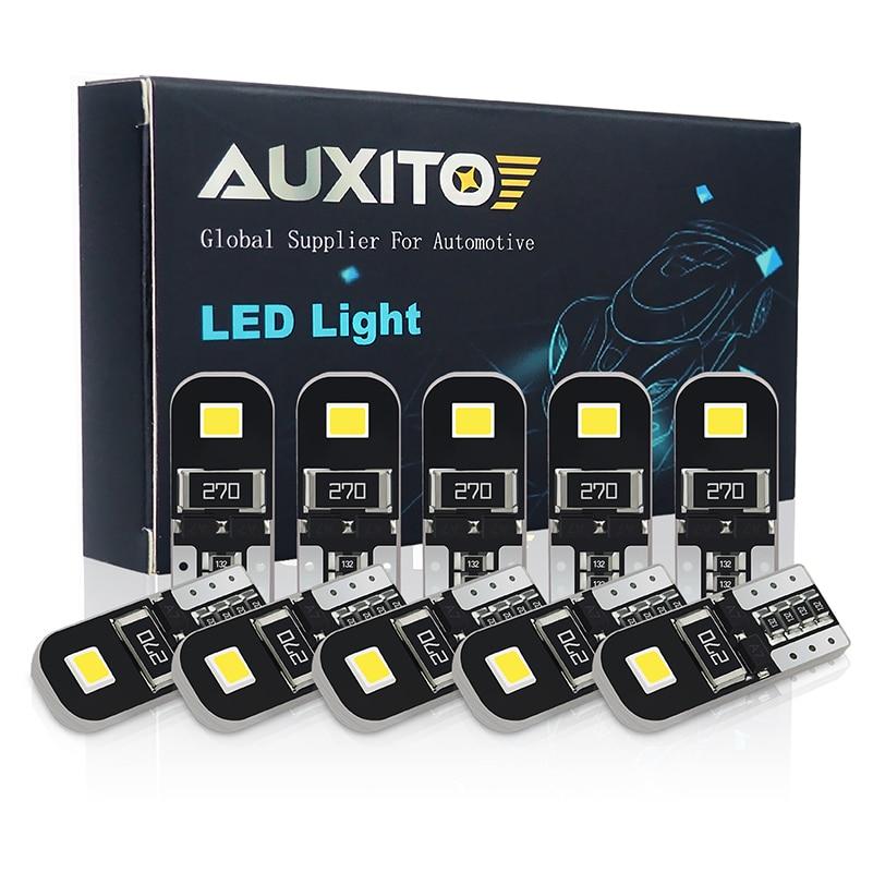 AUXITO 10X W5W T10 светодиодный светильник Canbus для салона автомобиля Kia Rio 2 3 4 Ceed Cerato K3 K4 K5 Mazda 3 5 6 GH CX-5 CX5 CX3 CX-7