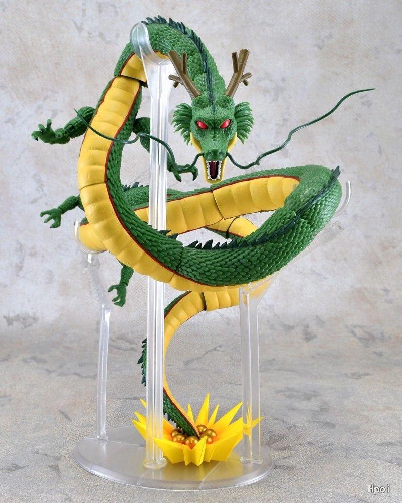 HKXZM Anime SHF 28 CM Dragon Ball Z Shenron PVC figura de acción de colección modelo de juguete de regalo