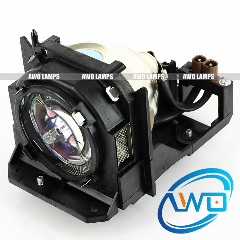 Awo et-lad12k bombilla buena calidad reemplazo de la lámpara con la vivienda para panasonic pt-dz12000/pt-d12000/pt-dw100; pt-dw100u/pt-d12000u