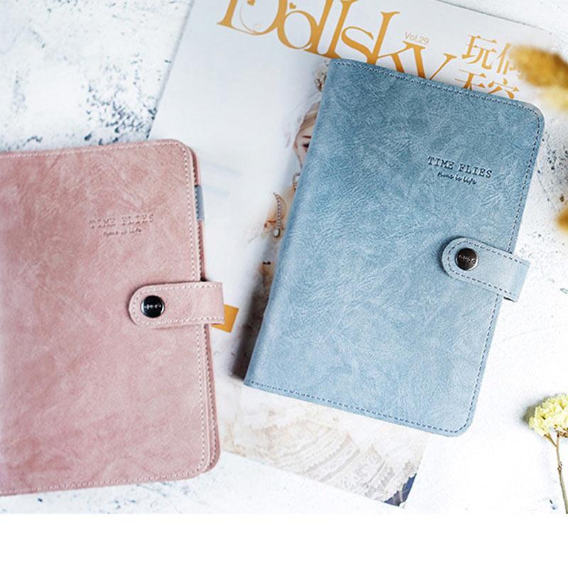 Cuaderno Yiwi Duga A5 A6 A7 Kawaii de cuero Pu dibujo animado bonito y adorable diario planificador diario Bloc de notas para niños papelería de regalo coreana