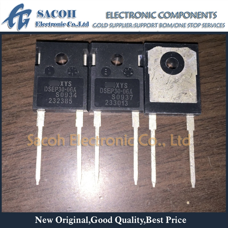 Used original 10PCS/Lot DSEP30-06A DSEI30-06A or DSEP30-06B DSEI30-06B TO-247 30A 600V Fast Recovery Diode