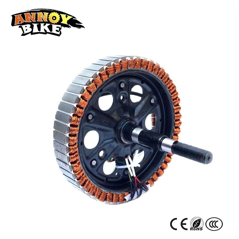 Motor de Bicicleta eléctrica, sin escobillas, 48V, 350w500w800w, 192x23, 198x30, Bicicleta eléctrica