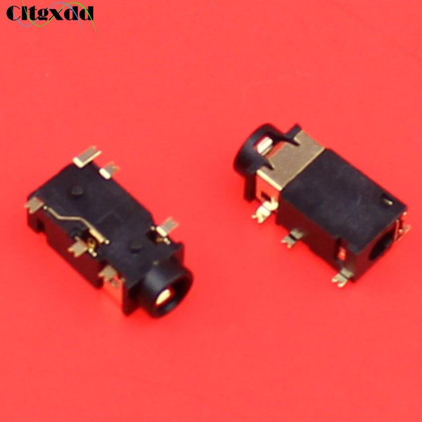 cltgxdd 1pc 3.5mm Female Audio Connector 6 Pin SMT SMD Headphone earhone Jack Socket PJ-311D