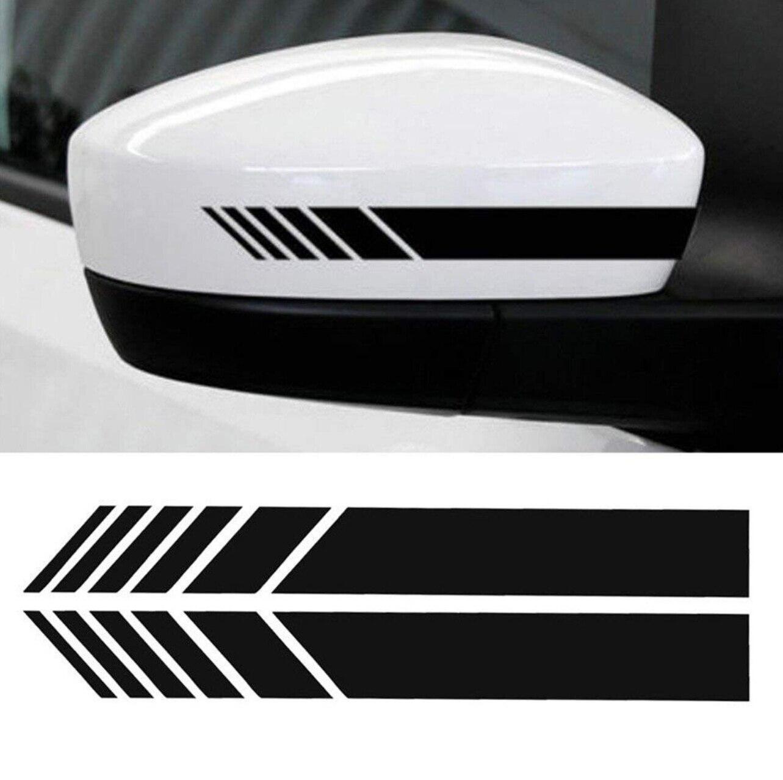2 uds estilo de coche vinilo adhesivo para automóvil para Skoda Octavia Yeti Roomster Fabia rápido superb KODIAQ citigo KAMIQ KAROQ SCALA de VISIO