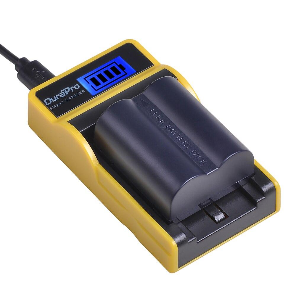 1pc DMW-BMA7 CGA-S006 Li-Ion 900mAh batería + LCD USB cargador para Panasonic Lumix DMC FZ7 FZ8 FZ18 FZ28 FZ30 FZ35 FZ38 Cámara