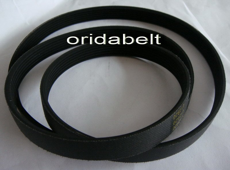 Free shipping Top quality 1168J6  460J6 washing machine drive belts multi ribbed belts