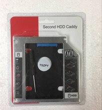 12.7 MM 2nd HDD SSD disque dur SATA boîtier Caddy adaptateur pour MSI GE60 GE70 GP60 GP70 GT60 GT70 CR720