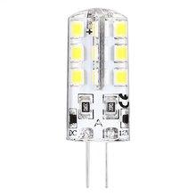 10 X BEEFORO 2.5 W G4 LED Mısır Işıkları 24 SMD 2835 180-300 lm Sıcak Beyaz/Soğuk beyaz bi-pin Işıklar spot DC 12 V 360 derece