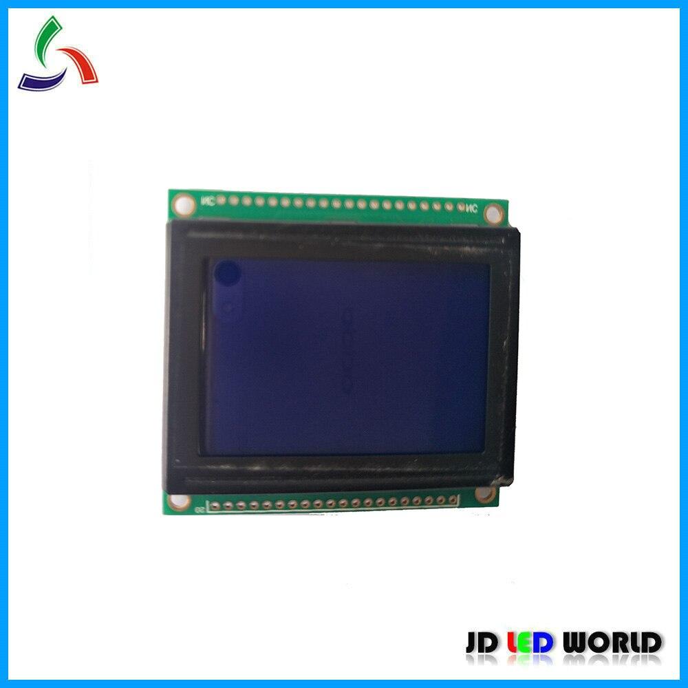LCM12864 Controlador ks0108 LCM Módulo Tela de 12864 LCD 12864E KS0107 54*50mm