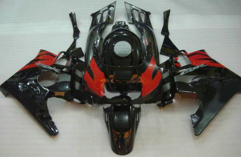 ABS Rojo Negro moto kit de carenado para CBR600F2 91 92 93 94 CBR 600F2 CBR600 1991, 1992, 1993, 1994 accesorios de la motocicleta