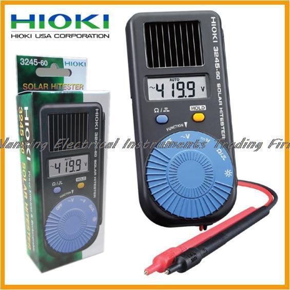Llegada rápida HIOKI 3245-60 FMI Digital HiTESTER Solar multímetro de tamaño de bolsillo