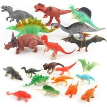 12 pièces/ensemble Mini animaux dinosaure Simulation jouet jurassique jouer dinosaure modèle figurines daction classique antique Collection pour garçons