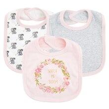 Kavkas bebé niña niño baberos bandana para bebé Baberos bebé triángulo alimentación eructo tela Collar bufanda delantal impermeable de dibujos animados toalla