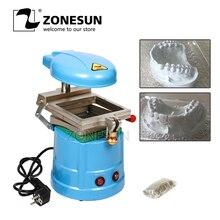 ZONESUN Machine de formage et de moulage sous vide dentaire 110 V/220 V 1000W équipement dentaire Machine de stratification dentaire