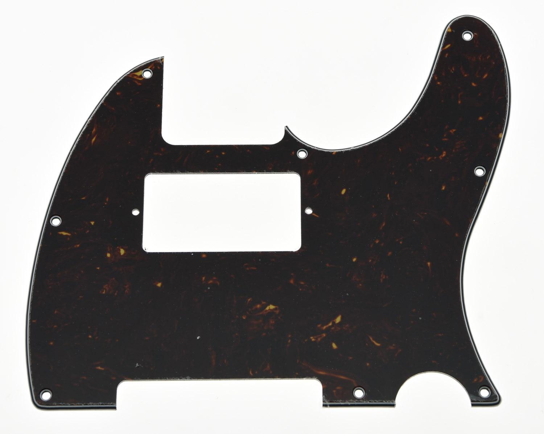 Tele Guitar Humbucker Pickguard Scratch Plate темно-коричневая черепаха для телешоу