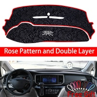 Rose Pattern For GAC Trumpchi GM8 2018 2019 Dashboard Cover Car Stickers Car Decoration Car Accessories Interior Car Decals