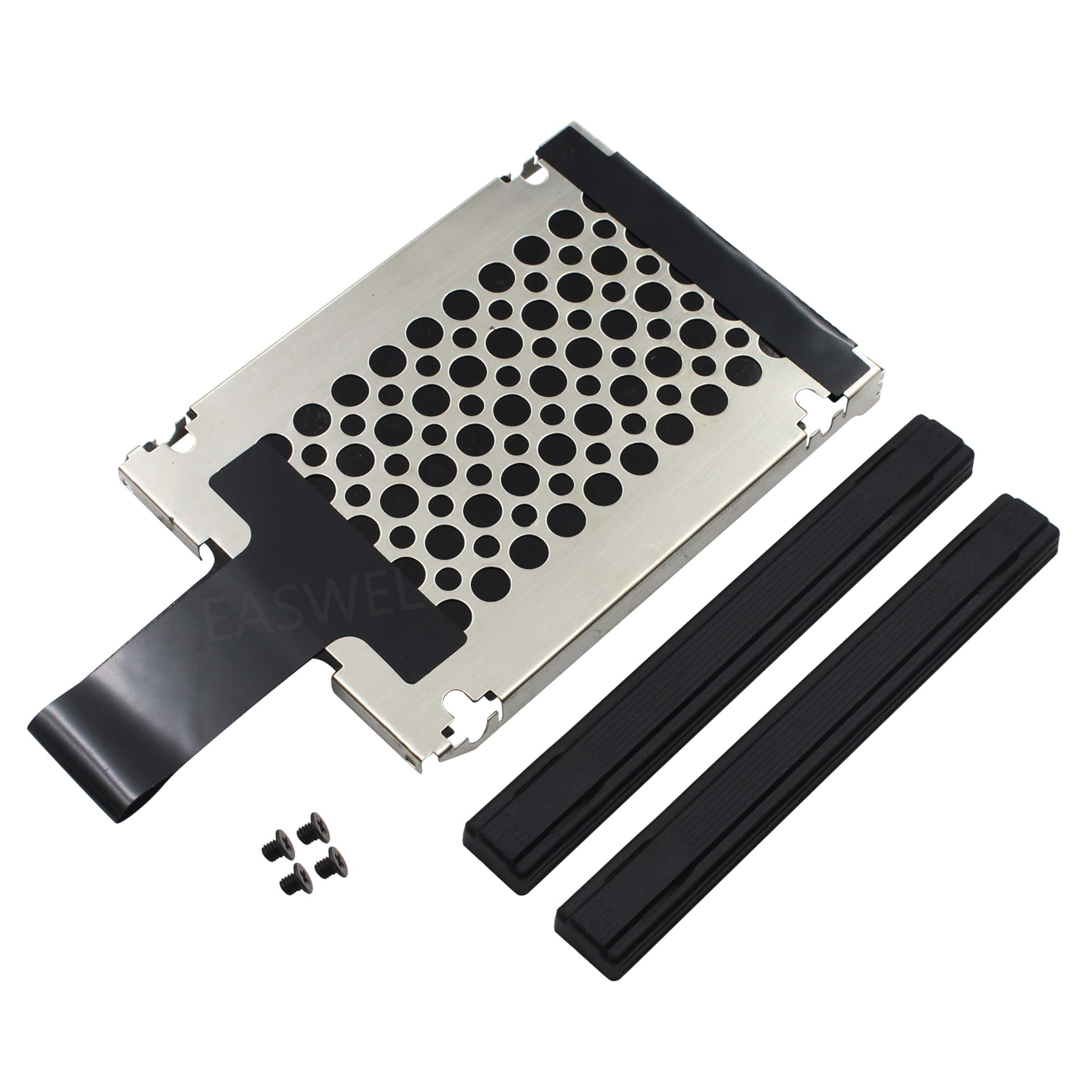 50 Uds HDD Disco Duro Caddy Rail & tornillos para Lenovo IBM Thinkpad T410S T500 T510 R400