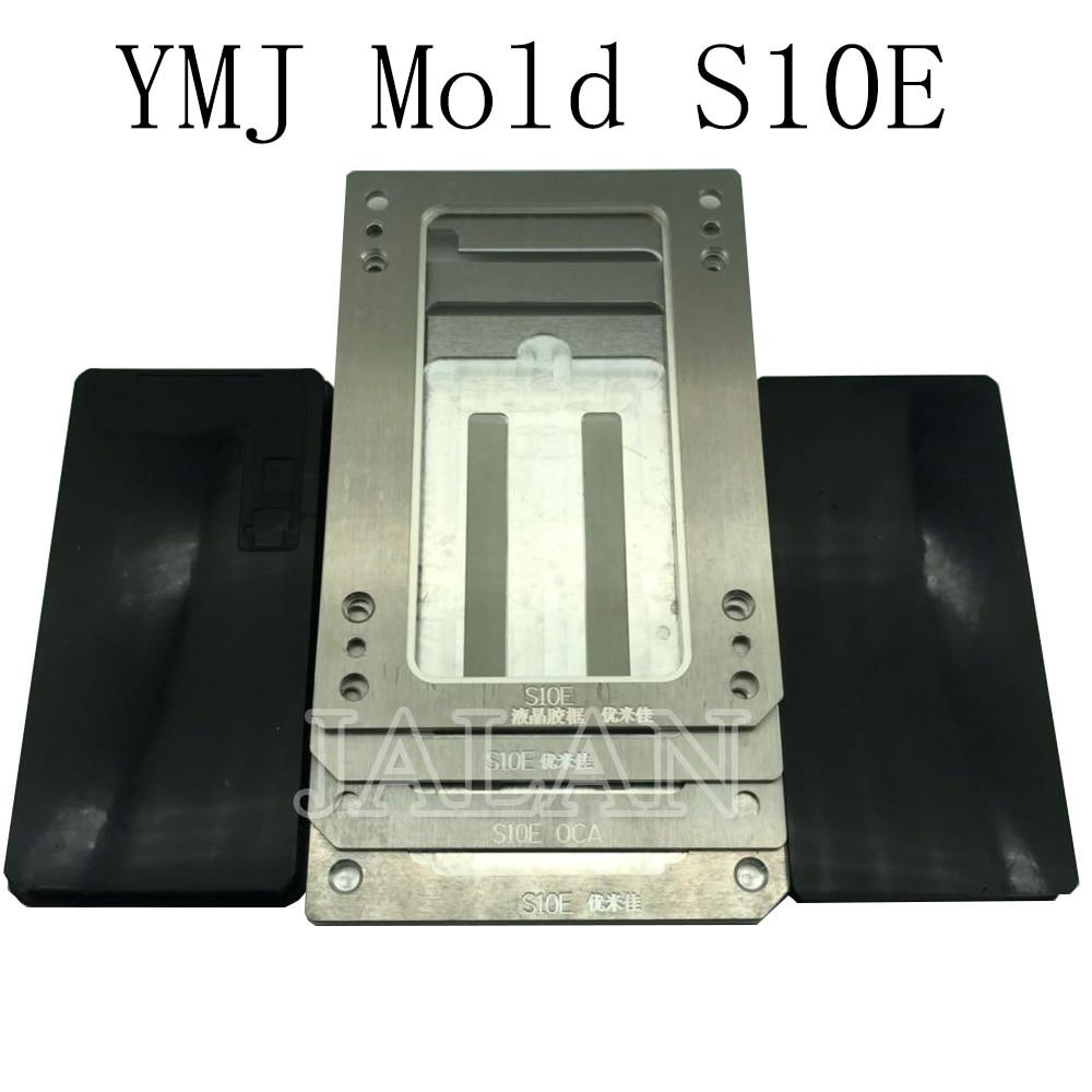 YMJ latest oca glass laminating mold for samsung S10E LCD digitizer perfect positioning oca polarizer glass laminate mold repair