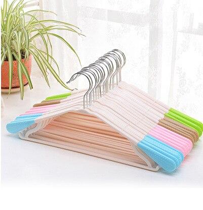 الرطب والجاف ذات الاستخدام المزدوج مقاومة للإنزلاق البلاستيك شماعات الملابس رف الملابس الشماعات دعم الملابس البلاستيكية شماعات