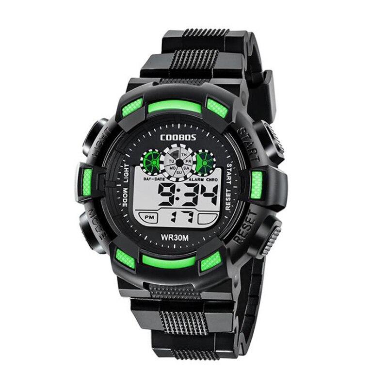 Reloj impermeable de por vida al aire libre relojes de pulsera digitales de moda para hombre gran oferta reloj de pulsera militar deportivo para hombre reloj electrónico LED