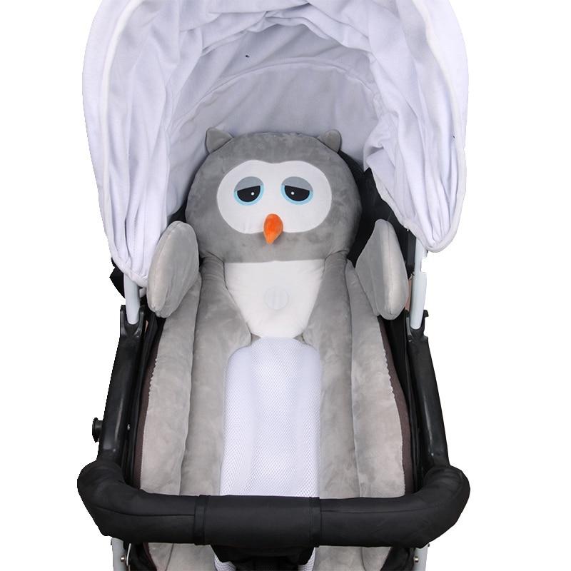 Baby Stroller Cushion Cover Safety Neck Protection Pads Newborn Car Seat Baby Stroller Mat Mattress Pram Stroller Accessories