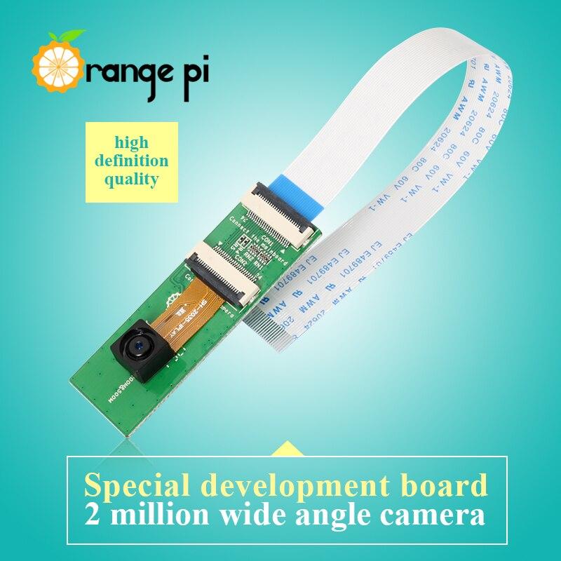 Cámara naranja Pi 2MP con lente gran angular para Orange Pi one/pc/lite/pc plus/plus2e Boards